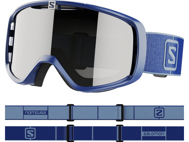 Salomon Aksium Access Lunettes De Protection, navy blue/silver